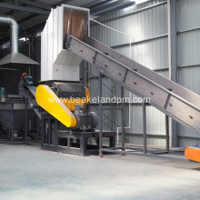 HDPE bottle crusher machine